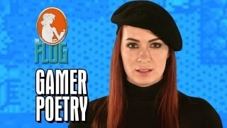 Felicia Day: Gamer Poetry, via YouTube.