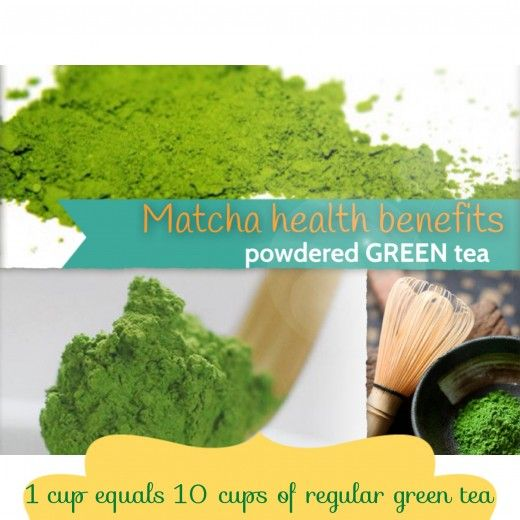 Matcha Green Tea Powder Health Benefits: EGCG... inhibit breast tumor growth and remove free radicals