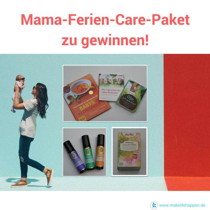 Gewinne das Mama-Ferien-Care-Paket!