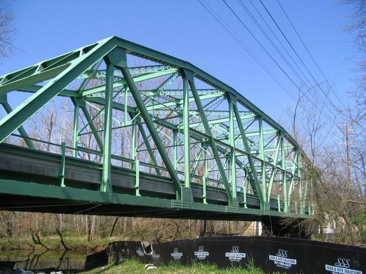 Truss Bridge Truss Bridge Built In 1935 And Spanning