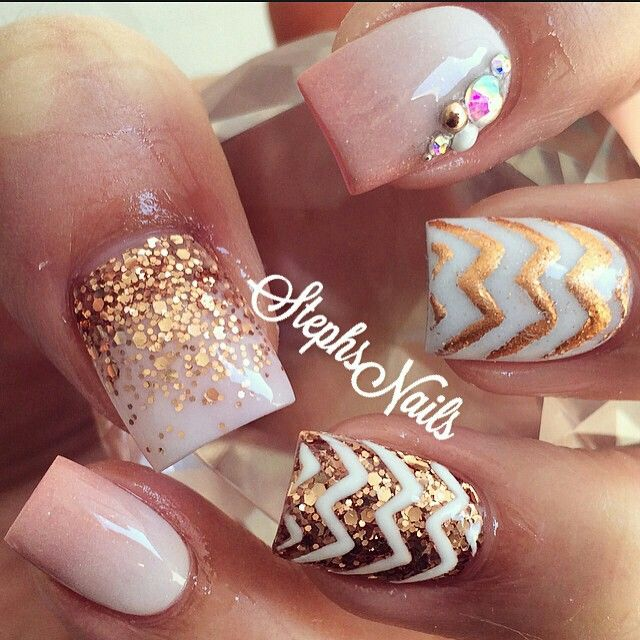 Nails By Steph | Nail Art | Pinterest | Nail Nail Makeup And Pedi