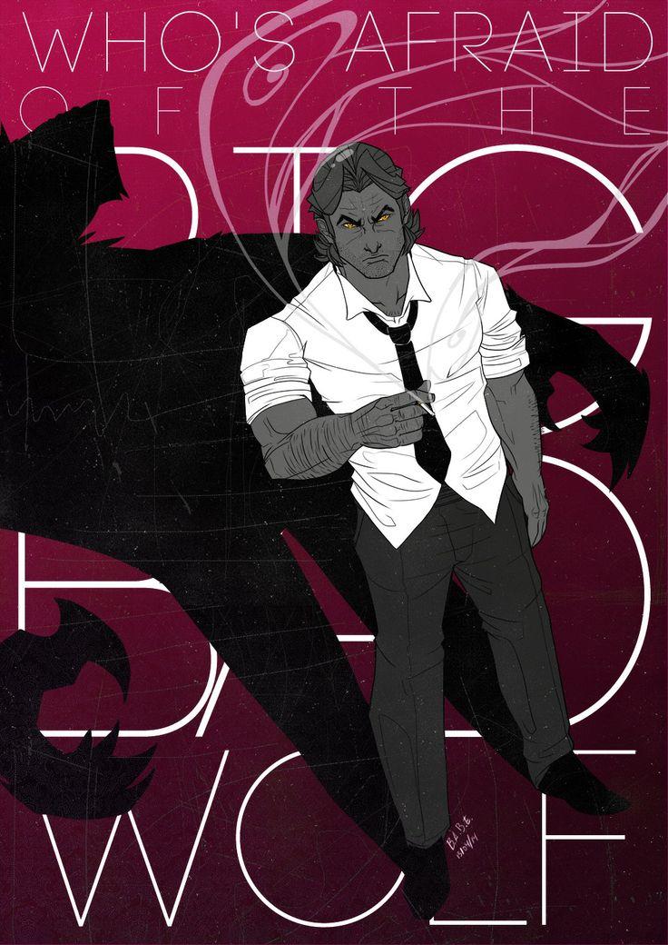 bad wolf of comic books