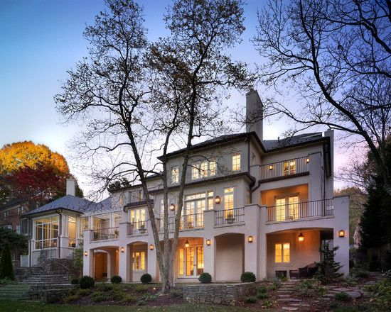 Fascinating american colonial house designs traditional for Modern colonial house plans