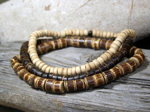 Mens Bracelet  Wood Bracelet  Mans Jewelry  by StoneWearDesigns, $34.00