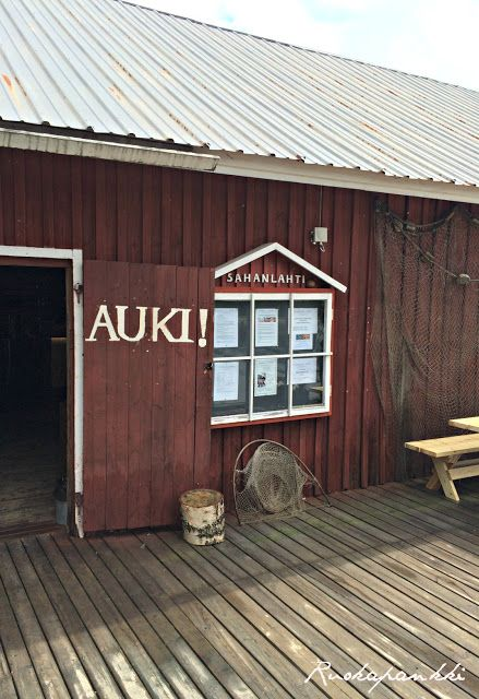 Ruokapankki: Sahanlahti #suomi #Finland #puumala #sahanlahti
