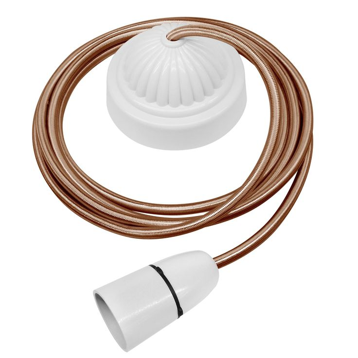 Pendant Cable Lighting Kits : Best images about ceiling rose on ceramics
