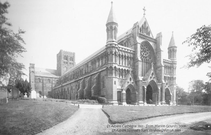 St Albans Cathedral 1921
