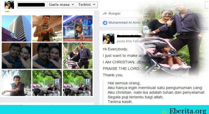 Murtadnya Mohd Yusri Pasangan Hina Islam Di Facebook   Kronologi Murtadnya Mohd Yusri Pasangan Hina Islam Di Facebook|Sepasang suami isteri yang mengaku murtad di laman Facebook masing-masing telah mengejutkan orang ramai. Mereka yang dikenali sebagai Sharifah Farlearton Fadil dan suaminya Mohd Yusri Bin Mohd Yusof didakwa telah keluar dari agama Islam tahun lepas.  Menurut Ketua Pengarah Jakim Datuk Othman Mustapha berkata jabatan itu akan mencari jalan penyelesaian selain mengadakan sesi…