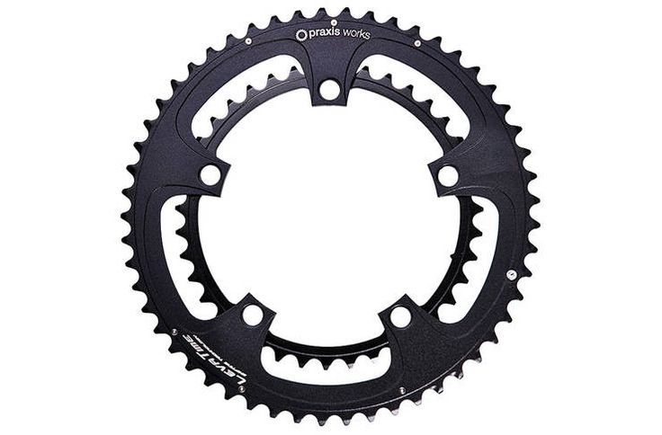 Praxis Works Standard Double 53/39 Tooth 130mm BCD Chainring Set | Evans Cycles