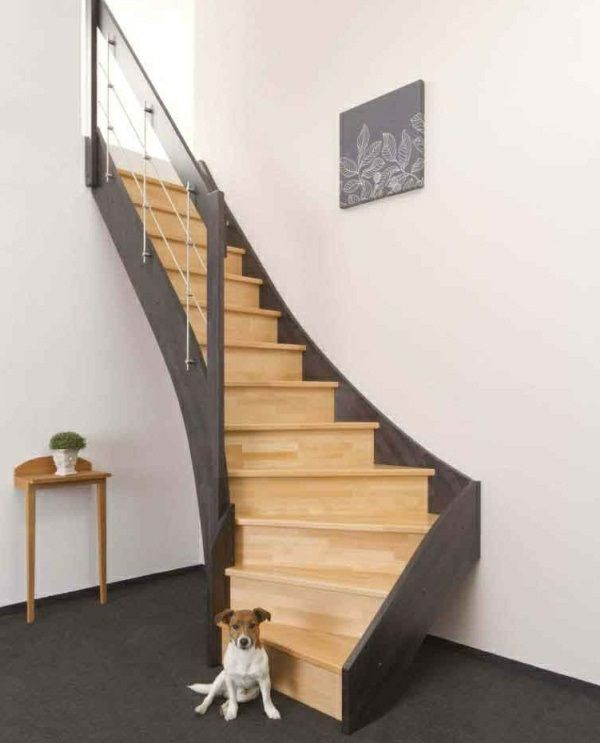 Space Saving Staircase Designs: 65 Best Space Saving Staircase Ideas Images By Gran