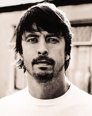 Dave Grohl photographed by Anton Corbijn