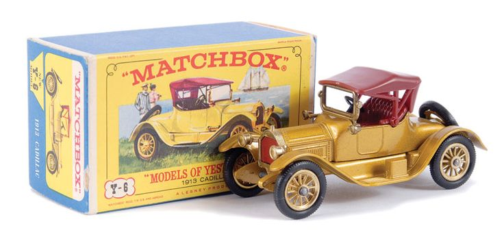 Matchbox Models of Yesteryear No.Y6 Cadillac 1913