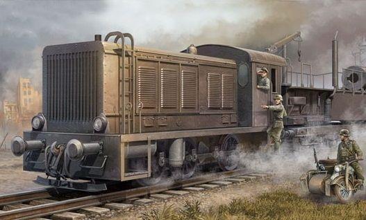 Trumpeter 00216 German WR 360 C12 Locomotive