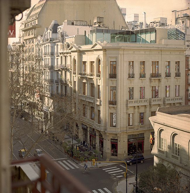 """Love this shot of Buenos Aires. Really features why it is called """"the Paris of South America"""""""