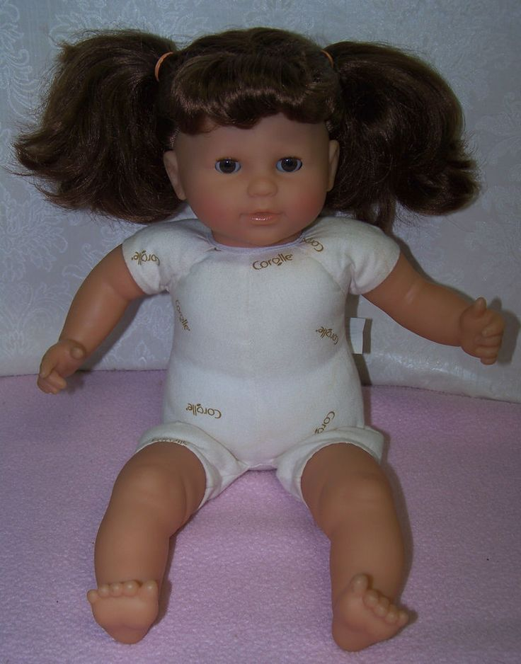 """Corolle Mon Bebe Classique 14"""" doll (2000)...one of my many dolly rescues"""
