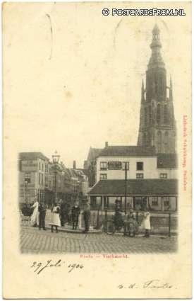 Breda, Vischmarkt 1904