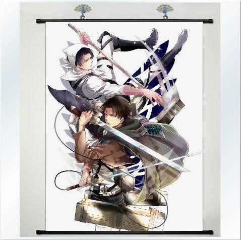 88 mejores imgenes de diy en pinterest ideas para casa acero y home decor anime japanese shingeki no kyojin attack on titan poster wall scroll 24 solutioingenieria Images
