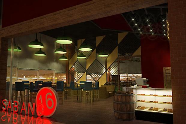 Title : Concept design interior Sabang16 Coffeeshop Category: Interior Commercial Design by: Rangga Wibisono