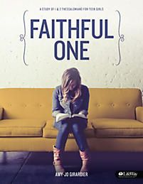 Faithful One is an eight-session resource that will lead girls through an in-depth study of 1 & 2 Thessalonians. They will examine biblical context and a multitude of spiritual truths in these letters from the Apostle Paul. Girls will discover more about the character of Christ and come to know Him as the Faithful One who reigns supreme. They will be challenged to live as faithful followers of Jesus in a world desperate for the gospel.