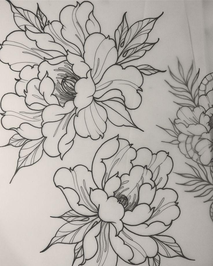 Kein Automatischer Alternativtext Verfugbar Flower Tattoos In 2020 Japanese Flower Tattoo Japanese Tattoo Art Peony Drawing