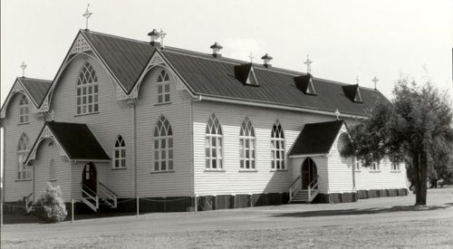 1910 St Brigids Catholic Church, Rosewood