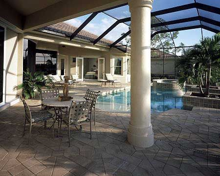 17 best images about pool living areas on pinterest for Lanai flooring options