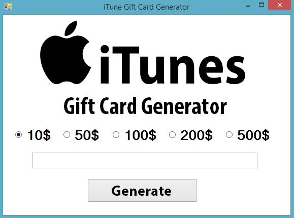 How to get Free iTunes Gift Card Code Generator - DashBoardDev Online