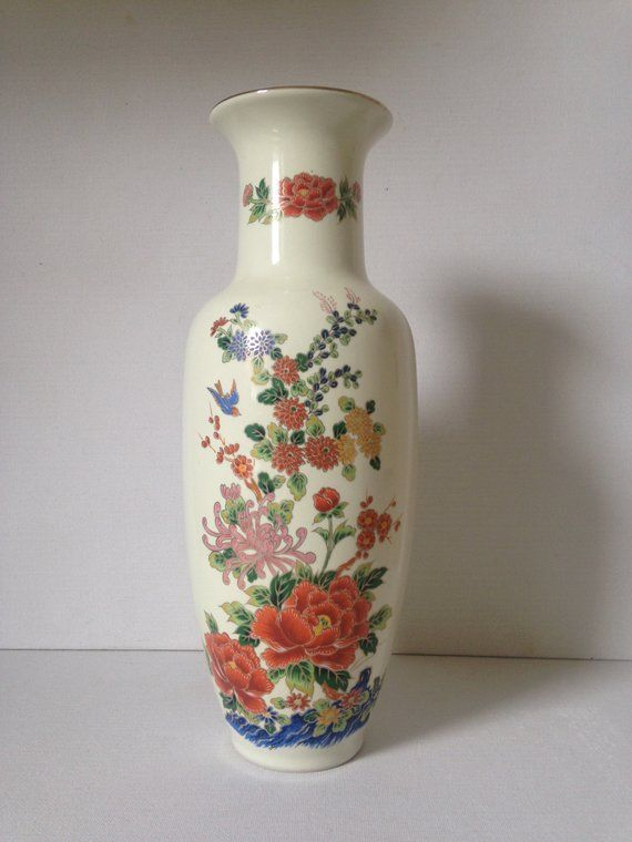 Your Place To Buy And Sell All Things Handmade Vintage Vases Country Cottage Decor Floral Vase