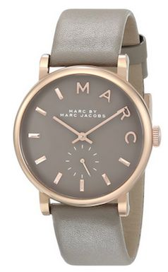 Elegant grey Marc Jacobs watch