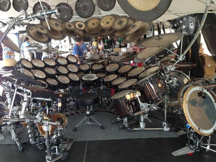 cool+drum+kits | Terry Bozzio - Missing Persons