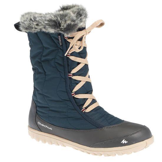 Bottes de randonnée neige femme SH900 chaudes et imperméables - 1011764