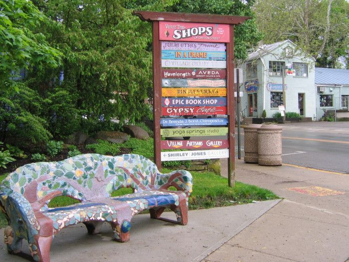 This artsy little town offers unique shops, local eateries and small town life at its finest. Yellow Springs OH