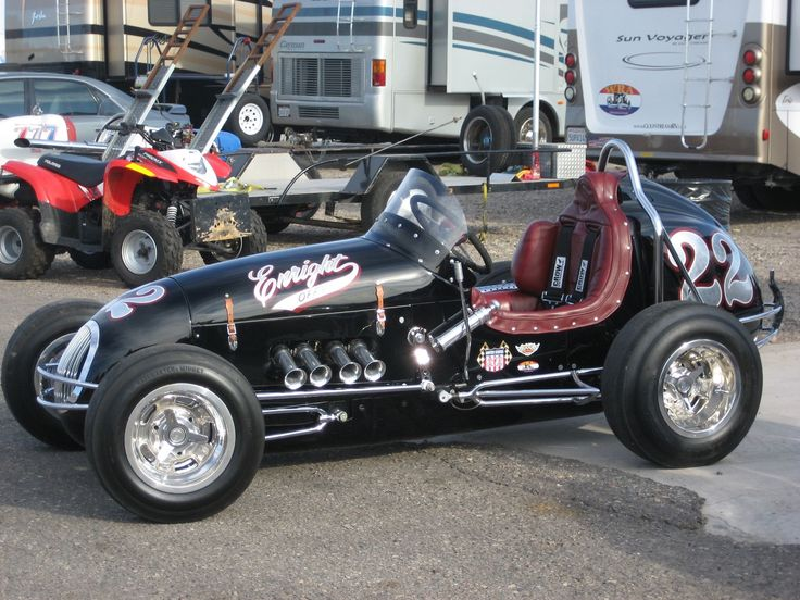 Restored Vintage Midget in 2020 Indy cars, Race cars