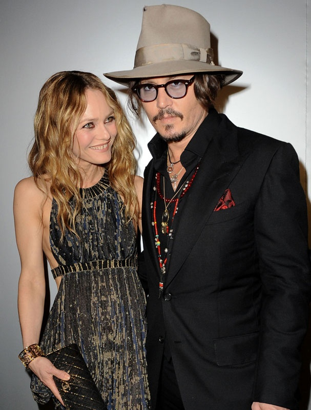 Vanessa Paradis et Johnny Depp en 2010
