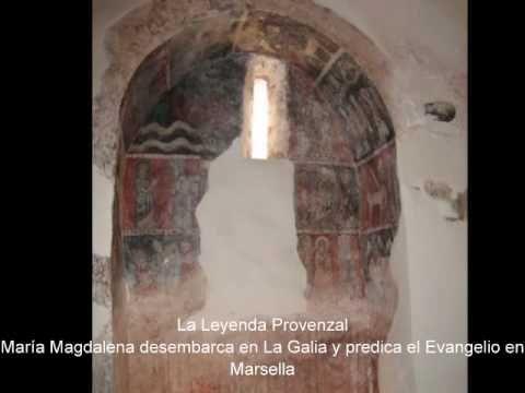 Iglesia de Sant Vicenç de Rus - Frescos de María Magdalena - siglo VIII - YouTube