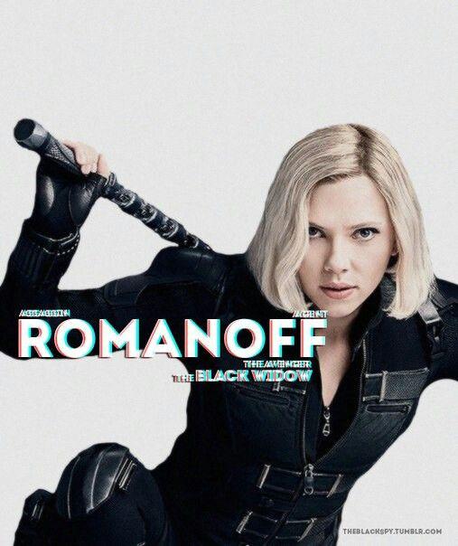 Character posters# Natasha Romanoff ➤Infinity war
