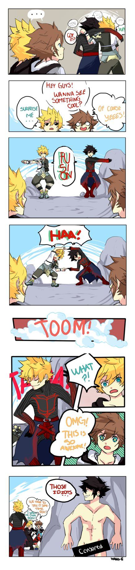 """And then Ventus continues to sleep for another couple of years.<<<lol Roxas: """"I want my own body"""""""