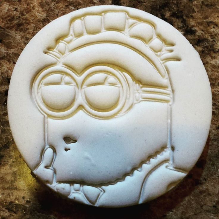 #etsy #3dprinting #3dprinted #cookies #cookiecutter #minion #minions  See my store for this cookie cutter! by fabrishape