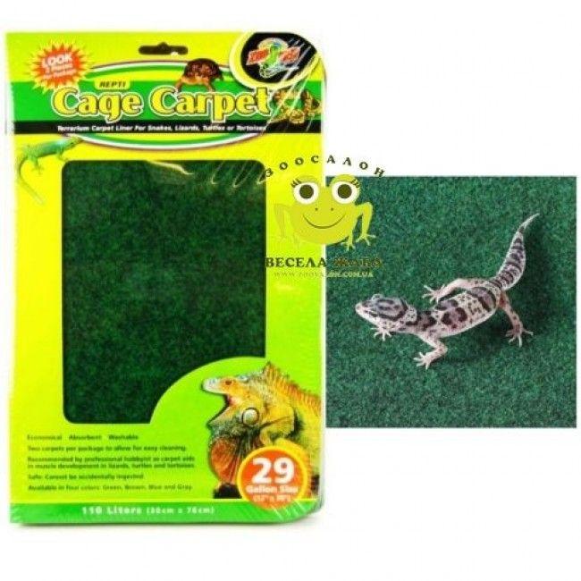 Carpete Substrato para Gaiola/Aquário de Répteis 1.21 cm x 33 cm - Zoo Med - Petshop