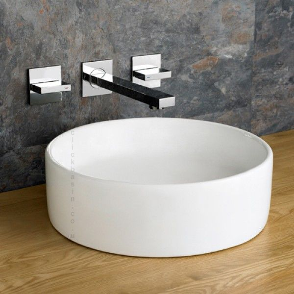 Mid Size Round Above Counter Bathroom Washbasin 350mm