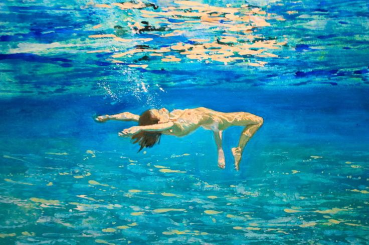 Underwater Swimmer-Maria Filopoulou