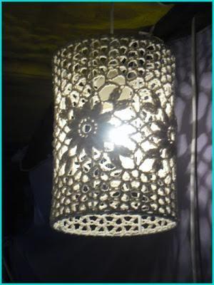 Tendencia Deco: lámparas de ganchillo Más