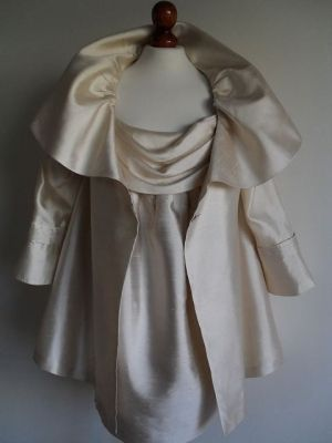 NORMAN HARTNELL  Silk Pearl  Suit Set  Draped by thingsofsplendor, $589.00 by nellie