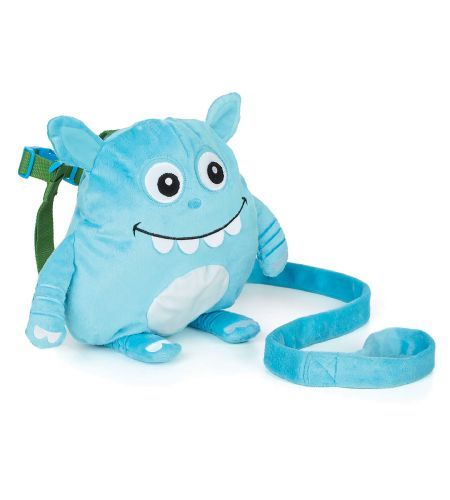Nuby Plush Monster Backpack Harness - Every child loves stuffed animals, now they can carry one on their back filled with their favorite things. Mom can keep their child safe and close with the removable tether
