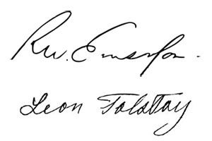 community post famous authors signatures