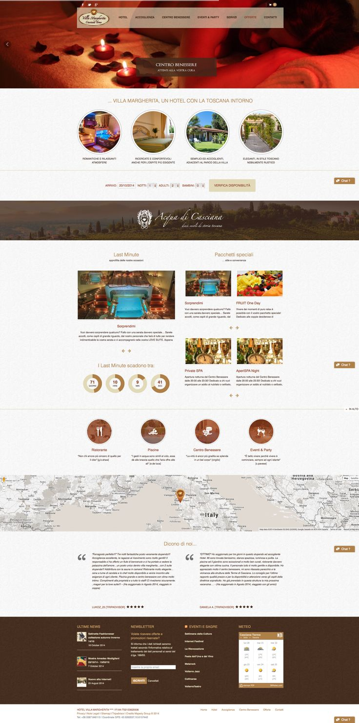 Looking for #accommodation where to spend one or more amazing days and have a nice rest? Read more at http://www.villamargheritahotel.it  to find out the best services they offer. Website made based on HOTELIOUR #wordpress #theme.