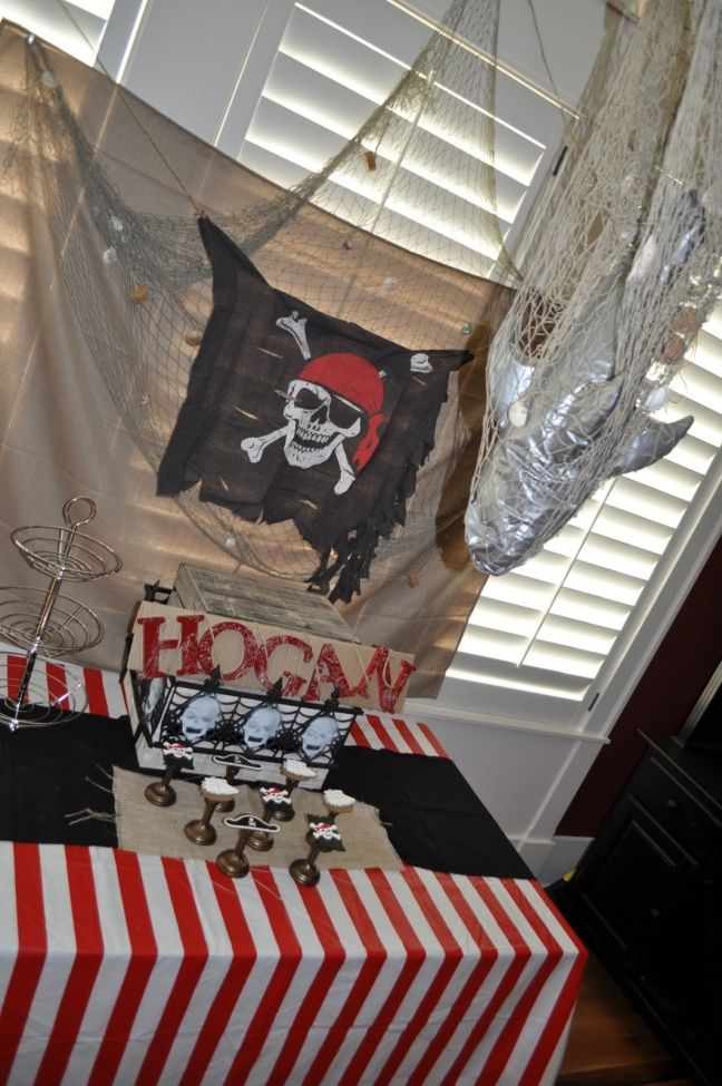 [Inspiration] Pirate Birthday Party! - Spaceships and Laser Beams