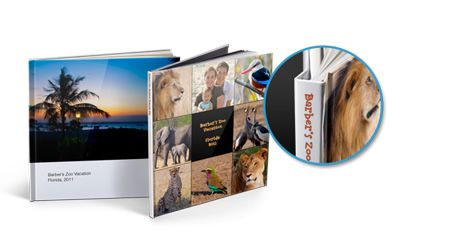 Hardcover - personalized photo books