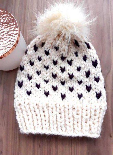 Trendy Knitting Hat Fair Isle Beanie Ideas Hat Knitting Hat