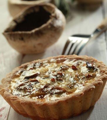 Τάρτα με μανιτάρια και πράσο | Γιάννης Λουκάκος
